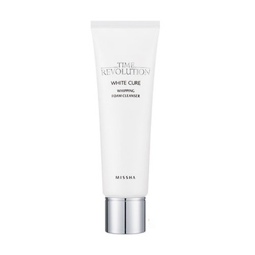 time-revolution-white-cure-whipping-foam-cleanser-